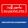 View Details of MASONLITE SIGN SUPPLIES & EQUIPMENT