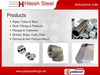alloy steel butt weld fittings from HITESH STEEL