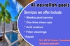 swimming pool contractors installation & maintenance from AL NASRALLAH POOLS