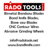 bandsaw blades from RADO TOOLS