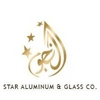 glass etched designed and sand blasted from STARS ALUMINIUM AND GLASS COMPANY LLC