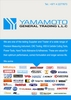 marine and offshore engine suppliers from YAMAMOTO GENERAL TRADING LLC